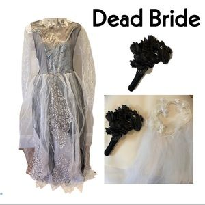 Dead bride Costume for Adult
